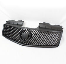 2003-2007 CADILLAC CTS SPORT BLACK FRONT UPPER MAIN MESH GRILLE+EMBLEM MOUNT NEW