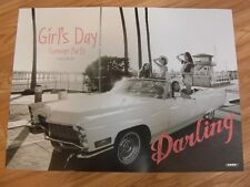 GIRL'S DAY - EVERYDAY #4 SUMMER PARTY TYPE D [ORIGINAL POSTER] K-POP