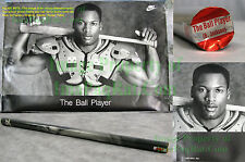 NITF Factory SEALED Nike Poster Bo Jackson THE BALL PLAYER 1st Print w/ LABEL