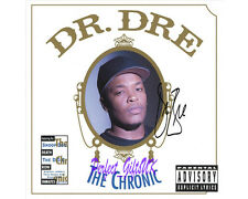 Dr. Dre The Chronic - SIGNED AUTOGRAPHED 10X8 PRE-PRINT PHOTO