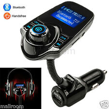 T10 LCD Bluetooth Car Kit Auto FM Transmitter MP3 Player FM Transmitter USB Lade