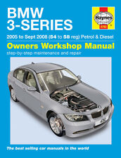 Manual de Haynes BMW 3-Series E90 E91 318i 318d 320i 325i 330i 320d 325d 330d 05-08