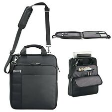 "Kenneth Cole Vertical Checkpoint-Friendly 15"" Laptop / MacBook Messenger Bag New"
