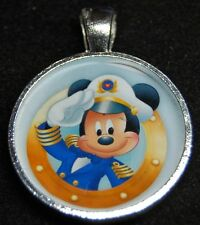 Disney Cruise Line Captain Mickey Wonder Dream Magic Fantasy Pendant Necklace