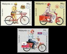 Postman's Uniform  Malaysia 2012 Vehicle Bicycle Motorcycle Postal (stamp) MNH