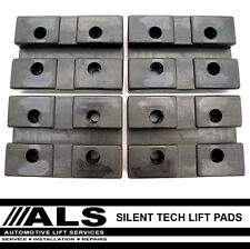 Silent Technology ST4B 2 Post Car Vehicle Lift Ramp Rubber Pads X 4 spares parts