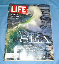 "Life Magazine December 21, 1962 ""The Sea"" Double Issue  65 Color Pages"