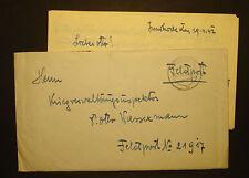"""DR/Österreich 1942: Alter Feldpostbrief Nr 21917 m. St. """"Innsbruck 20. IV 42"""""""
