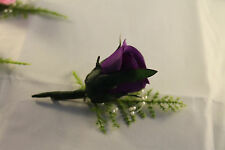 5 X QUALITY WEDDING BUTTONHOLES ****** MANY COLOURS*********