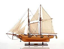 SAIL BOAT HARVEY HANDMADE WOODEN  SAIL BOAT MODEL