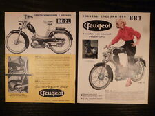 PEUGEOT BB 1,BB2 / catalogue brochure dépliant 24x19