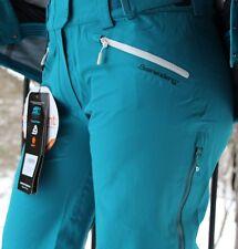 $379 Beerenberg Floya Event 3-Layer Waterproof Ski Snowboarding Pant Bib Women M