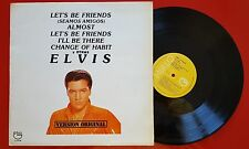 ELVIS PRESLEY *Let's Be Friends - Seamos Amigos* ULTRARRARE ISSUE Spain LP 1984