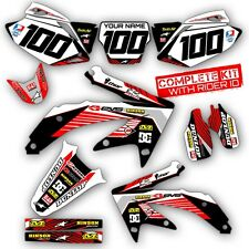 2004 2005 HONDA CRF 250R DIRT BIKE GRAPHICS KIT CRF250R MOTOCROSS RACING DECALS