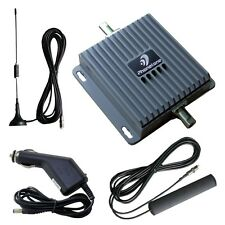 3G 850MHz 2100MHz Dual Band Cell Phone Car Signal Booster Repeater Amplifier