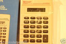 Retro Vintage Calculator SHARP ELSI MATE EL-233 1980's