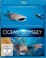 DOKUMENTATION - OCEAN ODYSSEY-THE BLUE REALM TEIL 2  BLU-RAY NEU