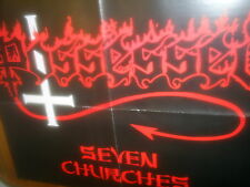 POSSESSED - SEVEN CHURCHES - POSTER im Format 45 cm x 58 cm TOP