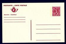 BELGIUM - BELGIO - Cart. Post. - 1984 - 10 Fr  - Stemma - Valore numerico