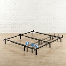 Zinus Heavy Duty Adjustable 9 Leg Support Bed Frame - Twin/Full/Queen - NEW