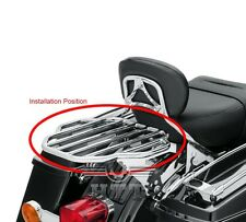 Chrome King Detachables Two-Up Luggage Rack For 09-16 Touring Street Glide