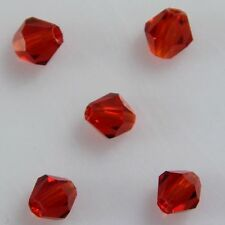100pcs Swarovski 4mm Bicone Crystal beads A RED A-20