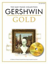 EASY Piano Collection George Gershwin Gold Learn to Play BEGINNER Music Book &CD