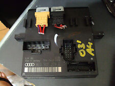 02 03 04-06 AUDI A4 S4 ON BOARD POWER SUPPLY MODULE COMMUNICATION INFO DISPLAY