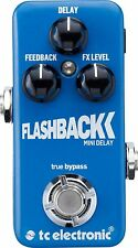 TC Electronic Flashback Mini Delay Guitar Effects Pedal!