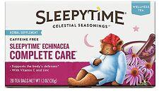 Celestial Seasonings Sleepytime Echinacea Complete Care Wellness Tea Herbal 20