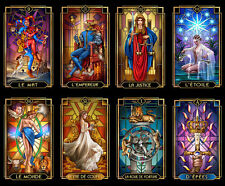 Stunning Tarot Decoratif Deck by Ciro Marchetti Self Published Limited Edition