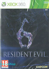 Resident Evil 6 Microsoft Xbox 360 18+ Action Shooter Game