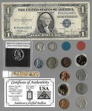 Silver Dollar Mercury Barber Liberty Indian US Coin Note Collection Lot Gold Pl.