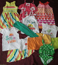 Gymboree clothing lot from several lines dress tops shorts size 10-12