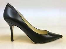 Jimmy Choo Black Kid Leather Agnes Pointed Toe Pumps 37 $595