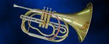 Marching French Horn, corno francese con oro ottone inalatore