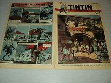 TINTIN 1947/26 (26/6/47) EDGAR P JACOBS LE SECRET DE L'ESPADON HERGE