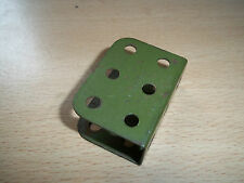 Meccano Part 160 Channel Bearing Army Green