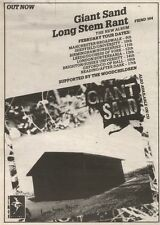 3/2/90Pgn19 Advert: Giant Sand The New Album long Stem Rant Out Now 7x5