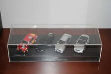 SPARK MINICHAMPS MERCEDES BENZ  AMG 40 YEARS PERFORMANCE SET 4 Cars 1:43