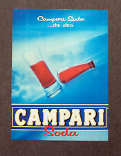 G006-Advertising Pubblicità-1983 - CAMPARI SODA