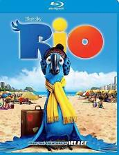 Rio (Blu-ray Disc, 2014) FREE SHIPPING