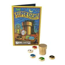Super Sight - Professional Brass Model - Mentalism Close-up Magic