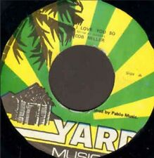 "Rare! Yard Music 7"" Vinyl Jacob Miller Augustus Pablo Tubbys Baby I Love You So"