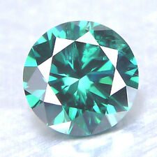 0.06 Carat 2.22 mm natural green color loose diamonds SI1 round brilliant cut NR