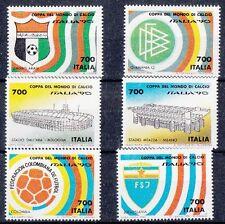 Italia 1990 Coppa del Mondo di calcio francobolli da Bf 7 Mnh