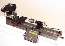 "Sherline 4000-DRO or Metric 4100-DRO - 8"" Mini Lathe Made in the USA!"
