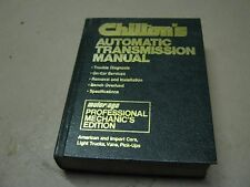 Chilton's Automatic Transmission Manual American Import Cars Trucks Vans Pick-u