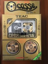 TEAC OCASSE Open Reel Cassette OC-2N. ULTRA RARE For collectors.Made in Japan