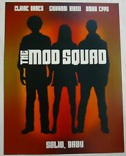 THE MOD SQUAD (AFFICHETTE SYNOPSIS) CLAIRE DANES / GIOVANNI RIBISI / OMAR EPPS